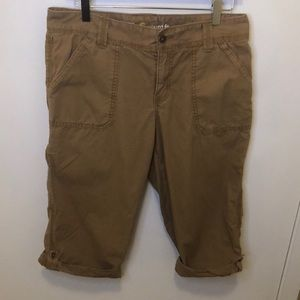Carhartt relaxed fit crop size 8